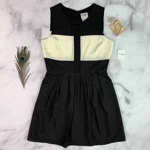 Just Taylor Color Block Dress
